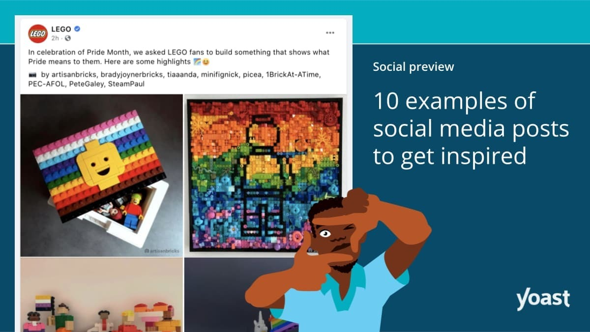 What 10 examples of social media posts to get inspired